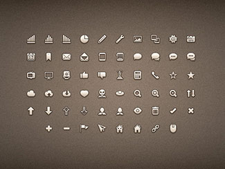 58 pixel-perfect icons