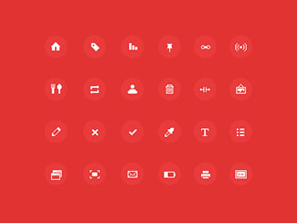 Sharp pixel-icons