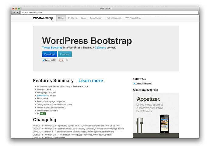 Dorable Wordpress Themes Bootstrap Elaboration - Resume Ideas ...