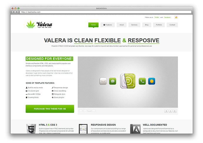 VALERA - Responsive WordPress Theme