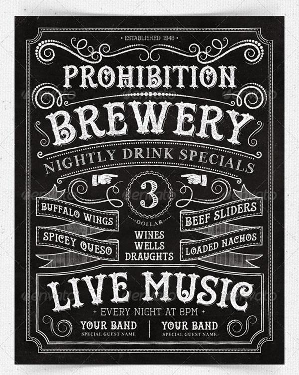 22 awesome chalkboard typography arts web graphic design bashooka