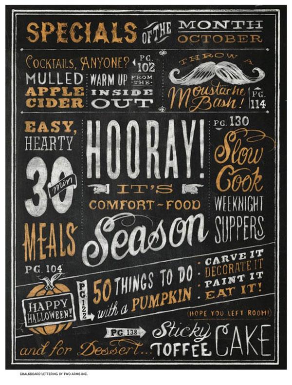 22 Awesome Chalkboard Typography Arts Bashooka