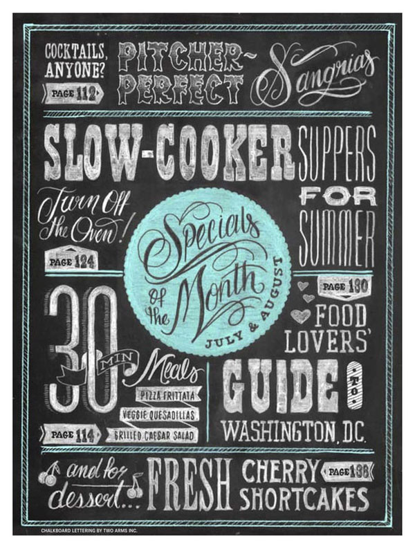 22 awesome chalkboard typography arts web graphic design bashooka