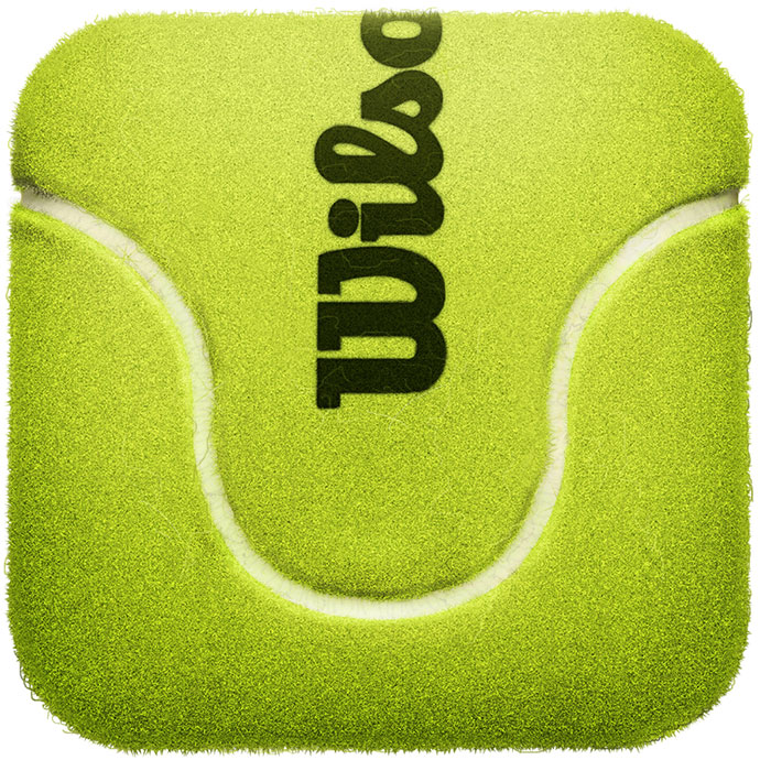 Tennis Ball by Mike Beecham