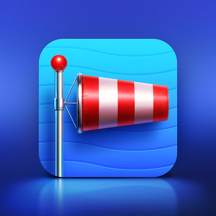 Apps Icons Design Wind Master App Icon by Artua