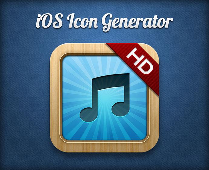 iOS Icon Generator