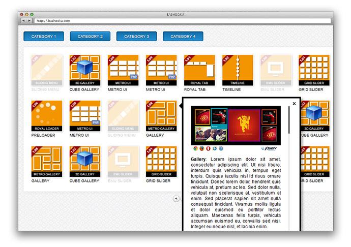 MelonHTML5 – Grid Slider