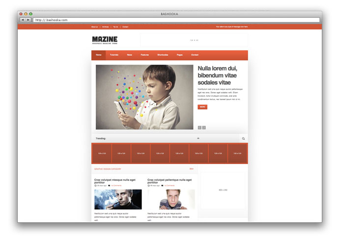 Mazine - Responsive Magazine Theme