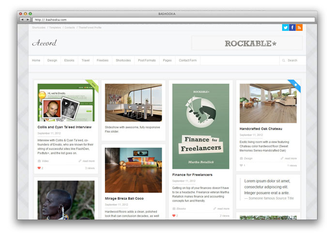 Accord - Responsive WordPress Blog Theme