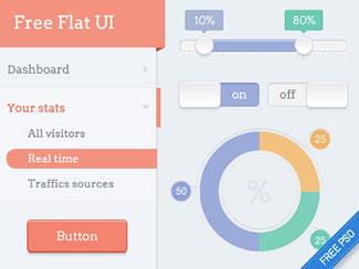 Flat dashboard