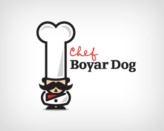 Chef Boyar Dog