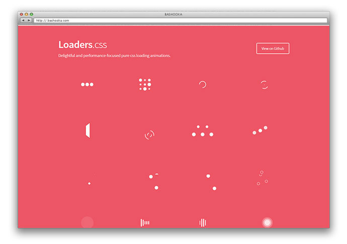 loader css animation