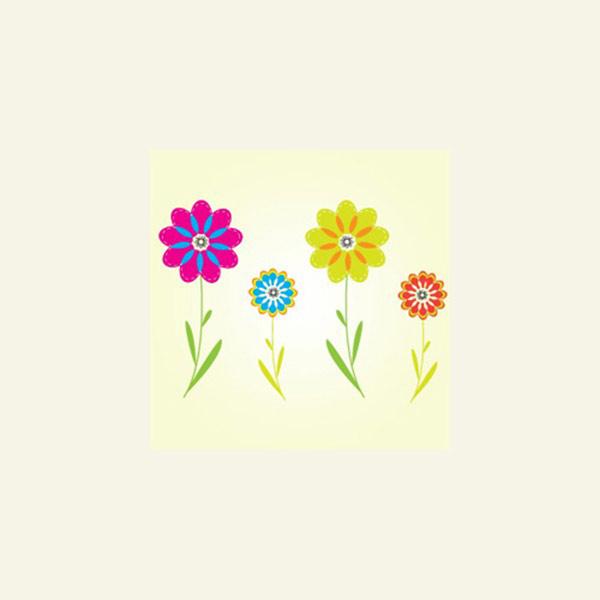 Colorful Flower Vectors