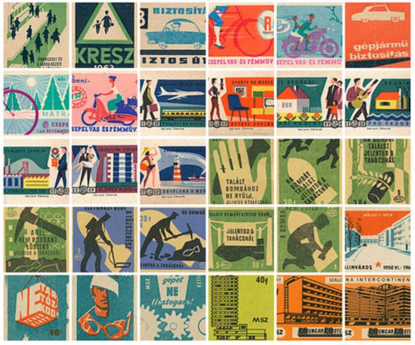 Vintage Packaging – Matchbox Labels