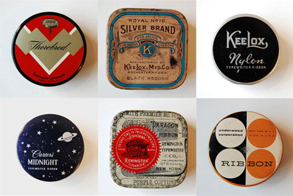 Vintage Packaging – Typewriter Ribbon