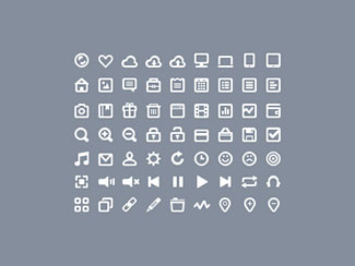 63 Icons (PSD)