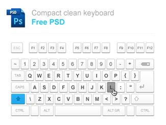 Compact Keyboard Free