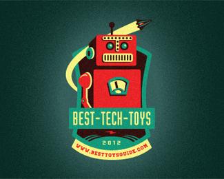 Best Tech Toys Reward Emblem