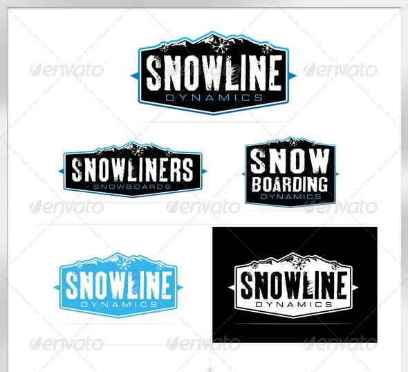 Snow Dynamics Logo Template