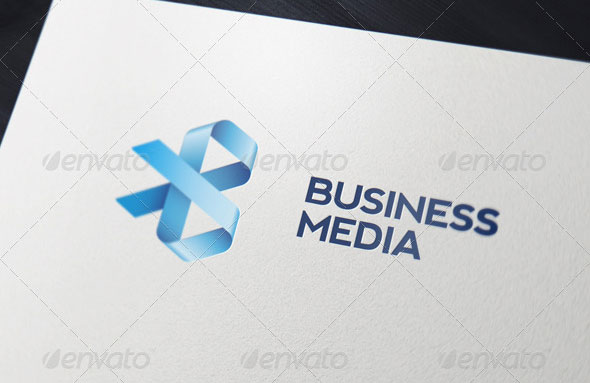 Business Media Logo Template