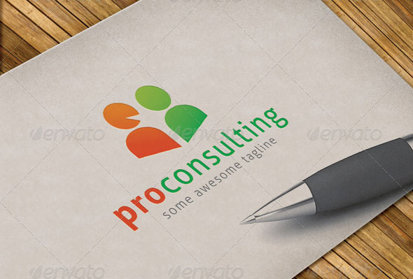 Pro Consulting Logo Template