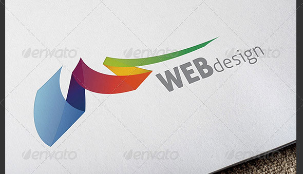 Web Design Colorful Logo