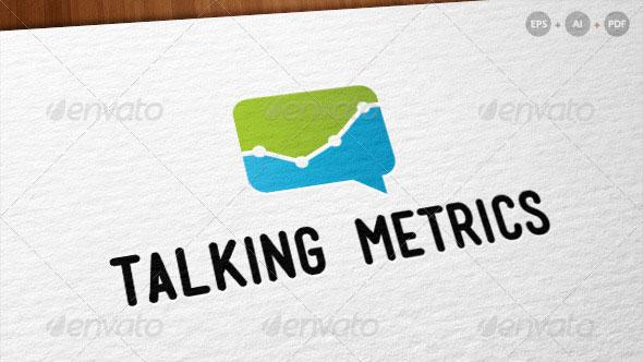 Talking Metrics - Internet Marketing Logo