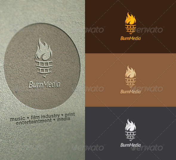 Burn Media Logo