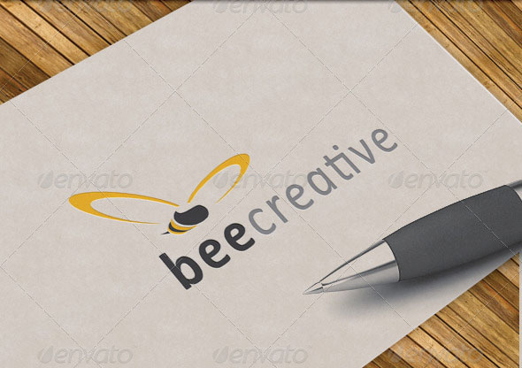 Bee Creative Logo Template