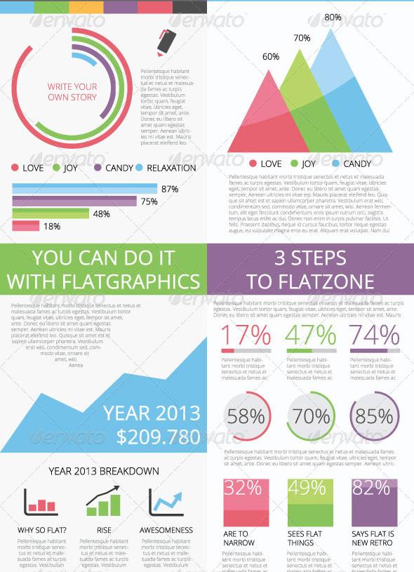 Flatgraphics - infographic tools