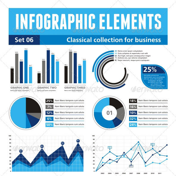 Infographics Elements - set 06