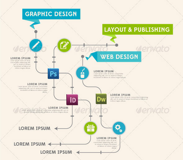 40 Fancy Infographic Design Elements | Web & Graphic Design | Bashooka