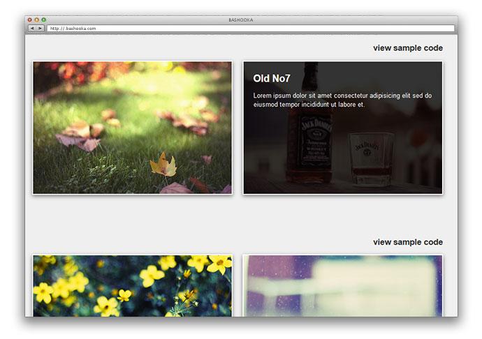 19 Cool jQuery Image Hover Plugins – Bashooka