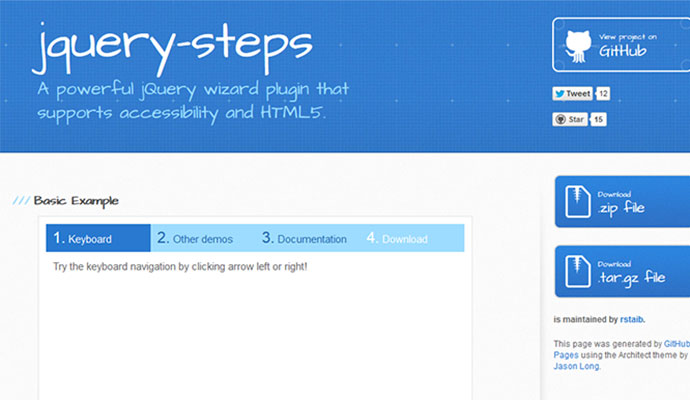 10 Cool jQuery Plugins June 2013