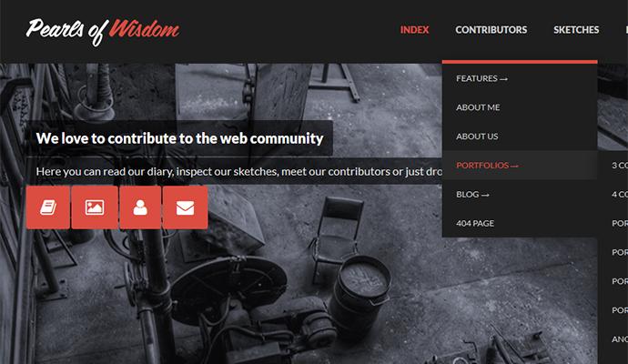 20 Beautiful And Refreshing Flat UI WordPress Themes – Bashooka
