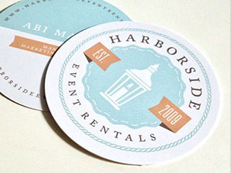 Harborside Business Cards