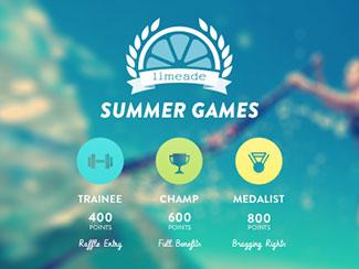 Limeade Summer Games