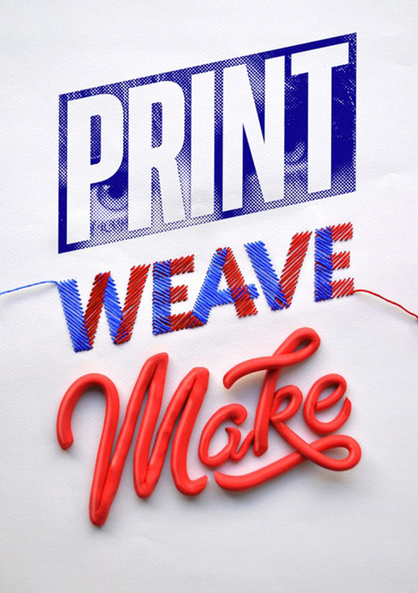 Typeverything.com    Print Weave Make – ID by Luke Lucas.