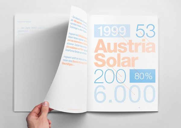 The Solar Annual ReportBY:Mathias NöselVia @Behance Team
