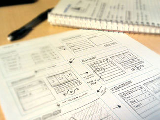 App UX Sketches