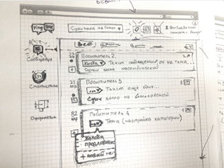 Prepare for wireframing