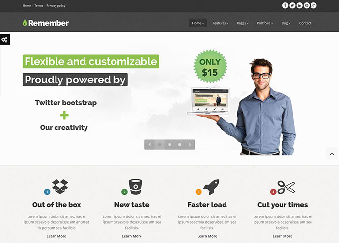 90 best business website templates 2013 web graphic design 90 best business website templates 2013 web graphic design bashooka flashek Choice Image