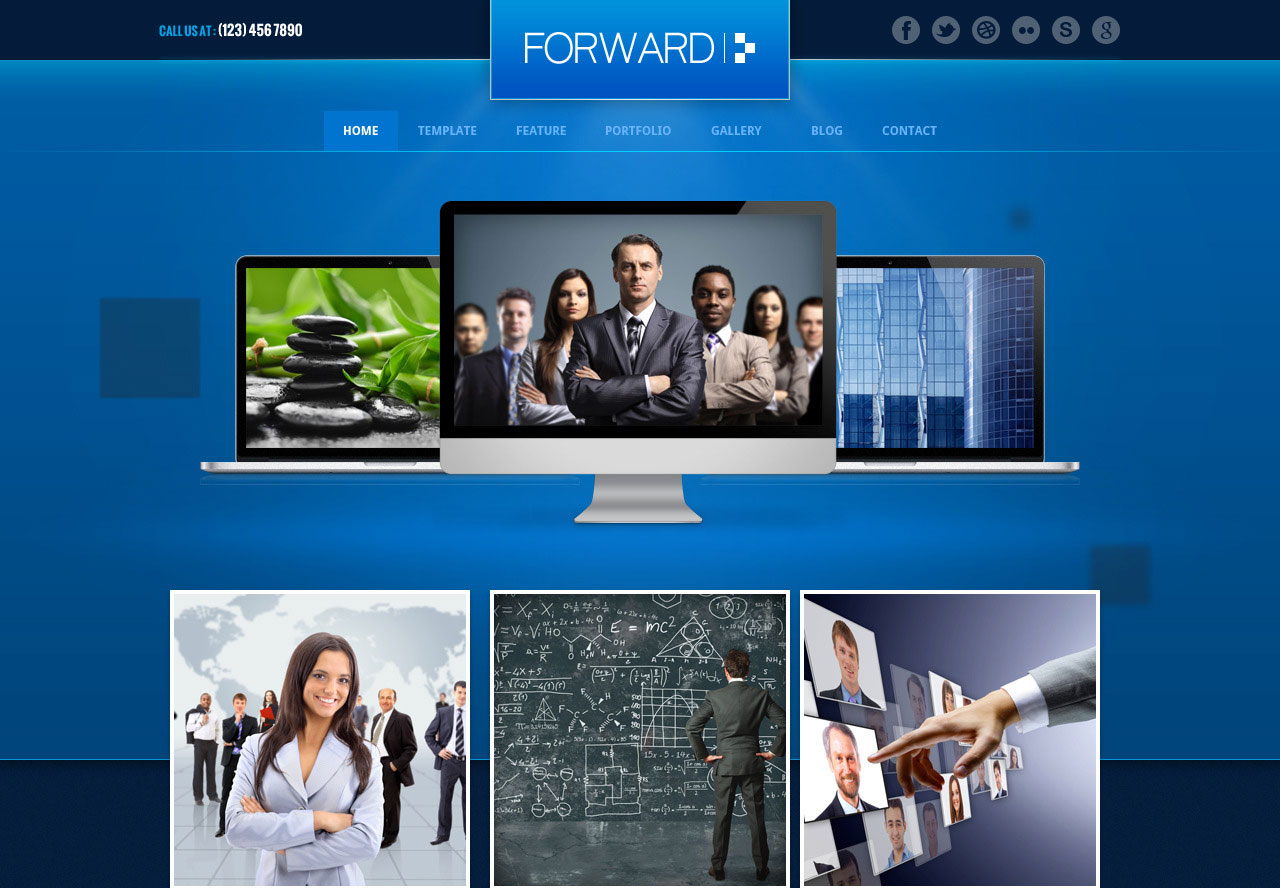 90 best business website templates 2013 web graphic design forward cheaphphosting Choice Image