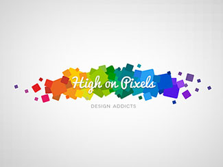 High on Pixels logo