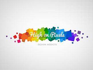 High on Pixels logo