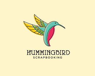 hummingbird scrapbooking