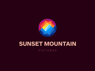Sunset Mountain Logo D...