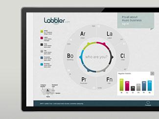 Labbler Landing Page