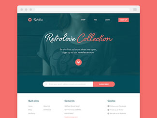 Retro / Homepage