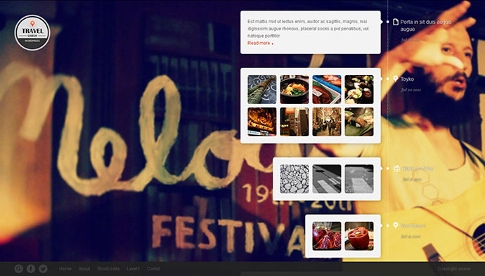 Travel Fullscreen/Responsive WordPress Theme